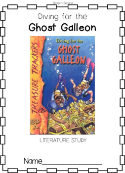 Treasure Trackers Diving for the Ghost Galleon Comprehension Novel Study