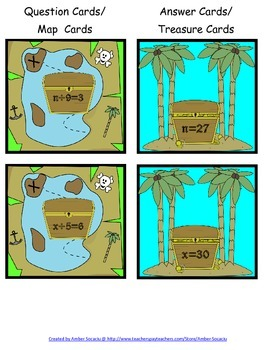 Treasure Trackers Division Game