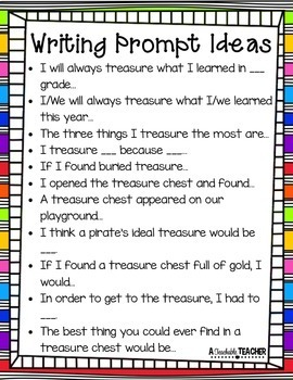 Treasure Writing and Craft