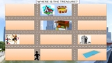 Treasure hunt - in town and giving directions (In der Stadt nach dem Weg fragen)