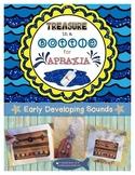 Treasure in a Bottle for Apraxia - Early Speech Sounds - W