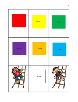 Colors: Treasure of Colors Pre-K and Kindergarten Activities