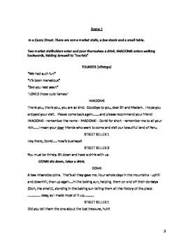 Lost Boys and LLamas! - a simple-set comic romp
