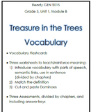 Treasure of the Trees Vocabulary Bundle (Ready Gen Grade 3)