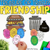 Treasure or Trash activity for teaching social skills