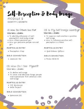 Treasured: Module 2 - Self Perception & Body Image