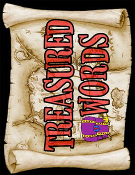 Treasured Words Title (Pirate/Nautical Theme)