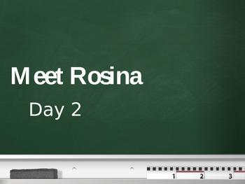 Treasures - 2nd Grade - Meet Rosina - Day 2