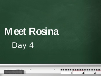 Treasures - 2nd Grade - Meet Rosina - Day 4