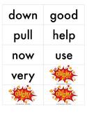 Treasures 1st Grade Sight Word Game - Unit 1