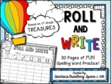 Treasures 1st Grade -- Treasures Spelling Word Roll and Write -- Spelling Game