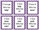 """Treasures 1st Grade Unit 1 High Frequency Word """"I Have/ Who Has"""""""