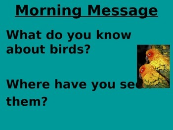 Treasures 1st grade Unit 4 week 1 PPT for Morning Messages