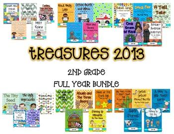 Treasures 2013 FULL YEAR BUNDLE (2nd Grade)