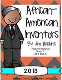 Treasures 2013 Companion Pack African American Inventors Grade 2, Unit 2, Week 5