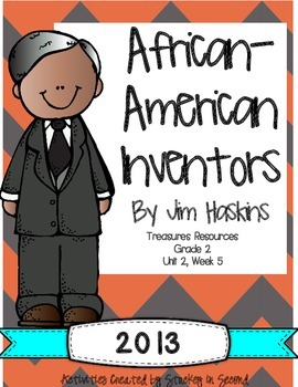 Treasures 2013 Companion Pack African American Inventors Grade 2, Unit 2, Week 5