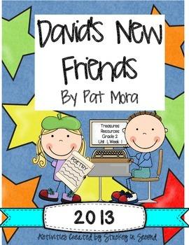 Treasures 2013 Companion Pack David's New Friends- Grade 2, Unit 1, Week 1