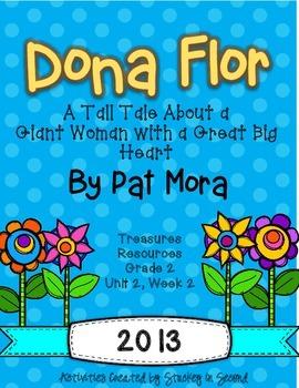 Treasures 2013 Companion Pack Dona Flor- Grade 2, Unit 2, Week 2