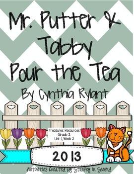Treasures 2013 Resources-Mr. Putter & Tabby Pour the Tea- Gr 2, Unit 1, Week 2