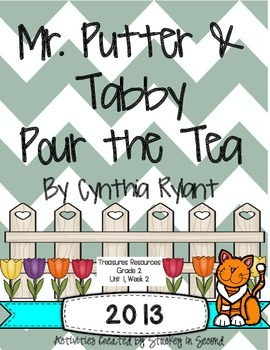 Treasures 2013 Resources-Mr. Putter & Tabby Pour the Tea-