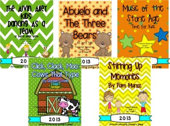 Treasures 2013 Unit 3 Bundle (2nd Grade)