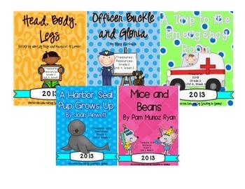 Treasures 2013 Companion Pack Unit 4 Bundle (2nd Grade)