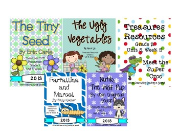 Treasures 2013 Unit 5 Bundle (2nd Grade)