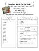 Treasures 2nd Gr. Unit 2 - Important Words - Spelling, Voc