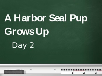 Treasures - 2nd Grade - A Harbor Seal Pup Grows Up - Day 2
