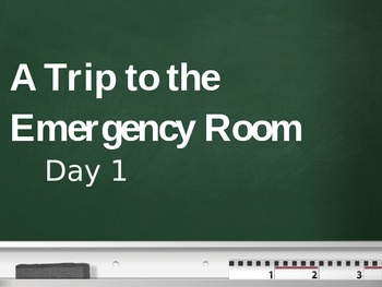 Treasures - 2nd Grade - A Trip to the ER - Day 1