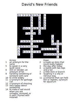 Treasures 2nd Grade Crossword Puzzles Units 1 - 6 Full Year