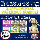 Treasures Reading 2nd Grade Printables Full Year Bundle Unit 1 - Unit 6