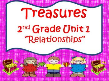 Treasures 2nd Grade Unit 1 Supplemental Materials Bundle