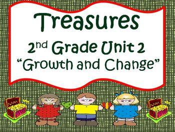 Treasures 2nd Grade Unit 2 Supplemental Materials Bundle
