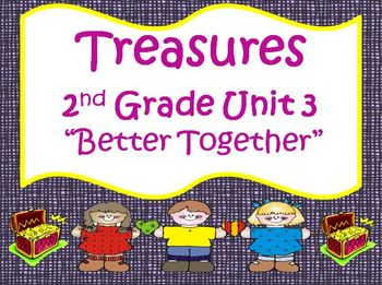 Treasures 2nd Grade Unit 3 Supplemental Materials Bundle