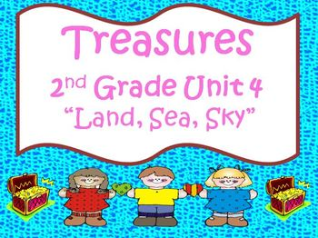 Treasures 2nd Grade Unit 4 Supplemental Materials Bundle