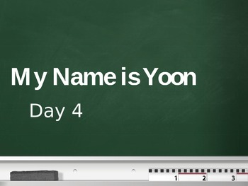 Treasures - 2nd Grade - My Name is Yoon - Day 4