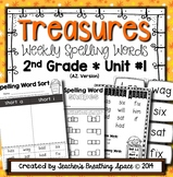 Treasures Spelling Word Lists and Resources --- 2nd Grade (Unit #1)