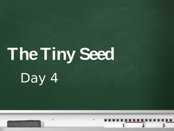 Treasures - 2nd Grade - The Tiny Seed - Day 4