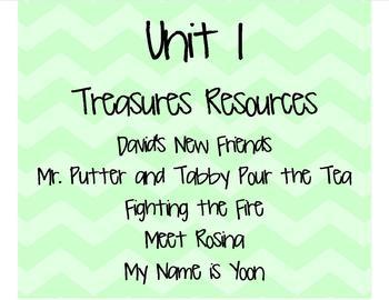 Treasures 2nd Grade Unit 1 (All 5 weeks!) 2007 Edition