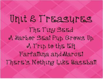 Treasures 2nd Grade Unit 2 (All 5 Weeks!) 2007 Edition