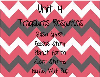 Treasures 2nd Grade Unit 4 (All 5 Weeks!) 2007 Edition