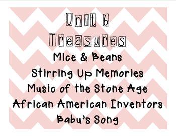 Treasures 2nd Grade Unit 6 (All 5 weeks!) 2007 Edition