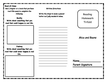 Treasures 2nd grade Reading Trifold Bundle Unit 6
