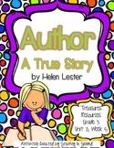 Treasures 3rd Grade - Author A True Story - Unit 2, Week 5