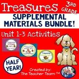 Treasures 3rd Grade Units 1, 2, 3 Supplemental Materials Bundle