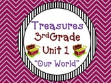 Treasures Reading 3rd Grade Unit 1 Printables