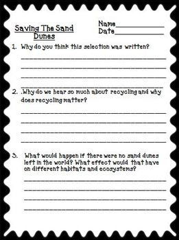 Treasures 3rd Grade Unit 3 Supplemental Resources