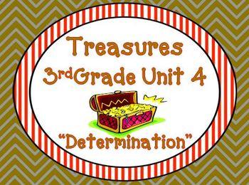 Treasures 3rd Grade Unit 4 Supplemental Materials Bundle