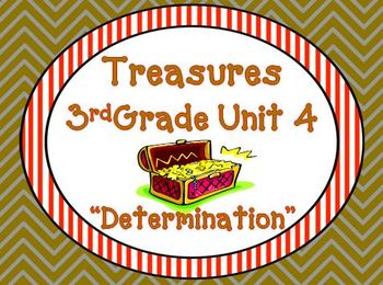 Treasures 3rd Grade Unit 4 Supplemental Resources